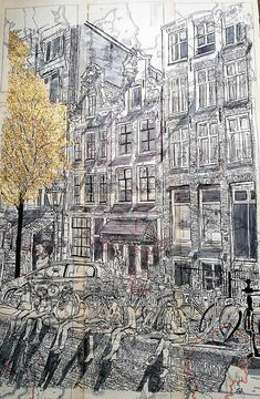 Amsterdam Cafe Culture by Sarah-Alice Miles