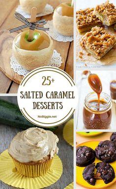 25+ Salted Caramel Desserts via @nobiggie