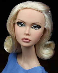 OOAK Fashion Royalty Poppy Parker Doll Repaint by Veronica in Dolls & Bears, Dolls, By Brand, Company, Character | eBay