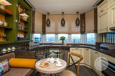 #window #interior #design #decor #beautiful #modern #curtains #romanblindes #romanshades