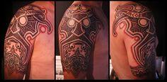 Nordic god mask by *Meatshop-Tattoo on deviantART