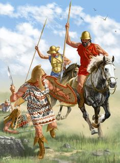 Battle of Crimissus between a large Carthaginian army commanded by Asdrubal and Hamilcar and an army from Syracuse led by Timoleon.