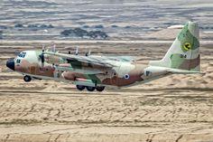 "toocatsoriginals: "" Israeli Air Force C-130 Qarnaf ""Rhinoceros"" Photos: xnir """
