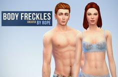 Un Sims au bout du fil., Body and Face Freckles for the Sims 4. Another...
