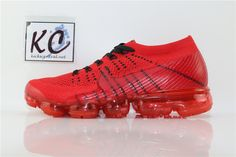 Nike Air VaporMax 2018 AA2241006 Edison Chen, Nike Air Vapormax, Red, Shoes, Zapatos, Shoes Outlet, Shoe, Footwear