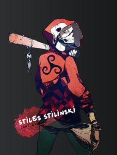 Stiles Stillinski make over bamf