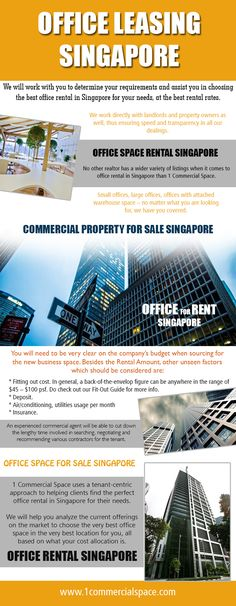 The best part in hiring these commercial agents is that they are mostly aware of latest happenings in the Office Space For Sale Singapore. They help you in the dealings so that you get what you desire. They will make sure that their property gains the highest profits. Office Space For Sale Singapore listings will give you an opportunity to get your dream house.