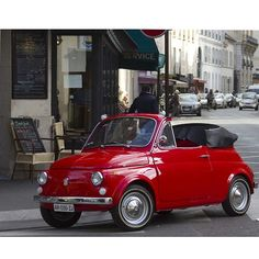 Drive the original smart car in Italy - Fiat 500
