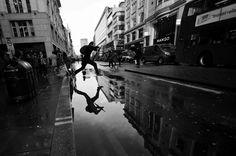 Rainy Day Black & White Photography | Abduzeedo | Graphic Design Inspiration and Photoshop Tutorials