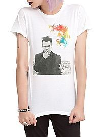 HOTTOPIC.COM - Panic! At The Disco Brendon Smoking Girls T-Shirt