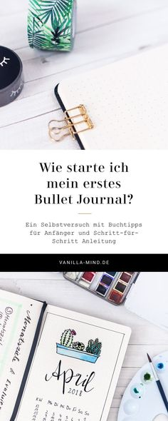 Self-experiment: I start a Bullet Journal! - Diy and Crafts World