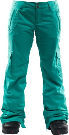 Foursquare Range Snowboard Pants Emerald - Women's. Perfect! and on sale!