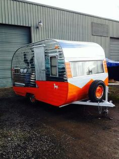 Would love to own or rent a vintage camper/ this is a 1958 vintage Westerner Canned Ham travel trailer