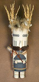 Third Mesa Warrior Woman - Tayron Polequaptewa (Winter Sun Trading Co, Flagstaff, AZ)