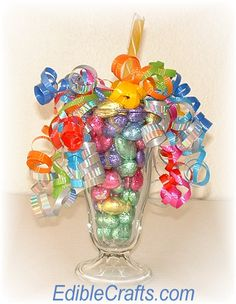 Easter craft ideas - candy sundae craft