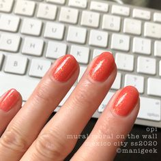 It's the upcoming OPI Mexico City Collection for Spring/Summer Let's look at all da swatches! Hello Kitty Opi, Opi Collections, Dotting Tool, Fall Nail Colors, Opi Nails, Gel Color, Nice To Meet, Almond Nails, Gorgeous Nails