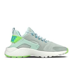 Nike Womens Wmns Air Huarache Run Ultra FIBERGLASSELCTRIC GREENGAMMA BLUE 85 US * To view further for this item, visit the image link.
