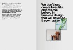Agency Leroy Iittala Brandbooklet 05