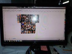 Camiseta/collage, Santiago Artunduaga, 10º Grado, Paulo Freire Centro Educativo. Monitor, Flat Screen, Paulo Freire, Saint James, Centre, Flat Screen Display, Flatscreen, Dish Display