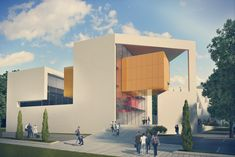 Gallery of Auerbach Halevy Wins Competition to Design Jewish Sports Museum in Ramat Gan - 3