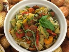 Rigatoni with Portuguese Sausage and Peppers Recipe | Foodland