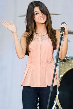 Selena Gomez performs in Central Park