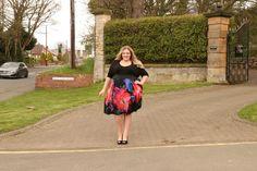 Scarlett and Jo Plus Size Sweetheart 2-In-1 Dress