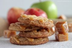 Caramel Apple Snickerdoodles   Community Post: 21 Delicious Cookie Recipes To Make This Fall
