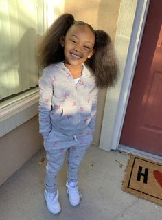 Cute Black Kids, Black Baby Girls, Beautiful Black Babies, Cute Baby Girl, Cute Little Girls Outfits, Cute Swag Outfits, Kids Outfits Girls, Little Girl Swag, Baby Outfits