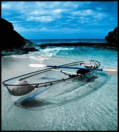Canoeing rocks