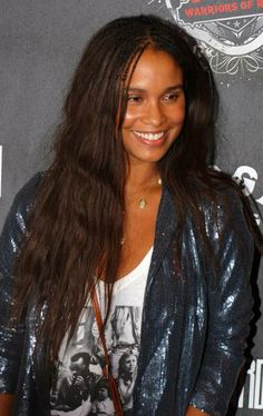 Joy Bryants super long hairstyle... Might have to try this look
