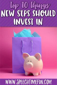 Are you a new SLP going into your first year? The resources available to you are overwhelming, I know! Coming from a place of experience, I've written the top 10 things you should be investing your money in before the new school year starts. You don't have to drop thousands your first year to have a great classroom! Click through to see my recommendations and get your year started on the right foot!