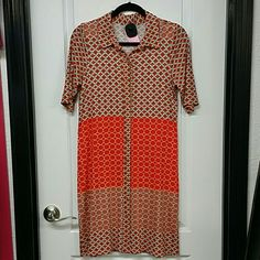 Lady dress Soft cotton. Tag is cut out but I think it's BcBG. Like NEW. Dresses Midi