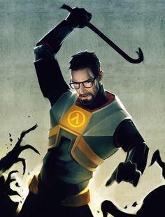 Half Life 2 Gordon freeman being awesome. #halflife #halflife3