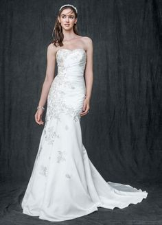 As-Is Trumpet Wedding Dress with Sweetheart Neck Style AI10030351
