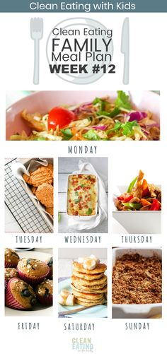 Clean Eating Family Meal Plan - Clean Eating with kids - Clean Eating Family Meal Plan {plus our families done for you,ready to print meal plan} - Clean Eating Recipes For Dinner, Clean Eating Meal Plan, Paleo Dinner, Ketogenic Diet Meal Plan, Keto Meal Plan, Real Food Recipes, Healthy Recipes, Fish Recipes, Diet Meal Plans To Lose Weight
