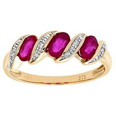 Bague Femme - Or jaune (9 carats) 2.3 Gr - Rubis - Diamant 1.01 Cts - T 46.5 Bijoux pour tous http://www.amazon.fr/dp/B000RHN8N2/ref=cm_sw_r_pi_dp_xxb7vb0HG7SN7