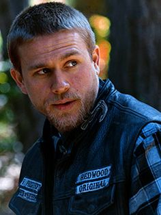 sons of anarchy - like watching a train wreck!!! My nerves are shot by the end but it is unbelievable.....& hot guys on Harley's are a plus! (Jax!)