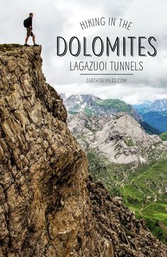 Hiking the Lagazuoi Tunnels in the Dolomites, Italy #dolomites #italy #hiking #lagazuoi #familytravel