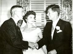 vintage everyday: The Wedding of John F. Kennedy and Jacqueline Bouvier, 1953