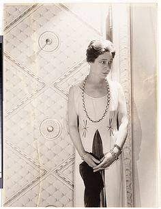 Citation: Juliana Force, ca. 1931 / Cecil Walter Hardy Beaton, photographer. Marchal Landgren papers, Archives of American Art, Smithsonian Institution.