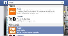 iniciar sesion Twoo desde Facebook