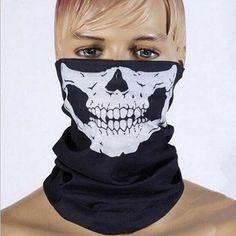 Skull Face Tube Mask