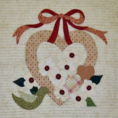 Vintage Valentines - Block 2 of 12