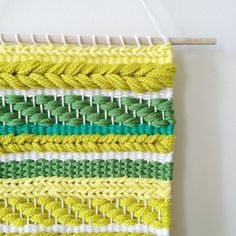 Hand-woven wall hanging | by UnrulyEdges on Etsy