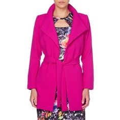 Table Eight Carly Mid-Length Belted Coat Belted Coat, Outerwear Women, Mid Length, Latest Fashion, Blazer, Table, Jackets, Stuff To Buy, Clothes