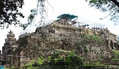 Baphuon Temple in Angkor Thom, Siem Reap Cambodia Date: Beginning of 11th century, Reign: Udayadityavarman II, Religion: Hindu (Shiva)  Read more: http://www.globaltravelmate.com/asia/cambodia/angkor/angkor-temples/548-siem-reap-baphuon.html#ixzz2XbYH1YiW