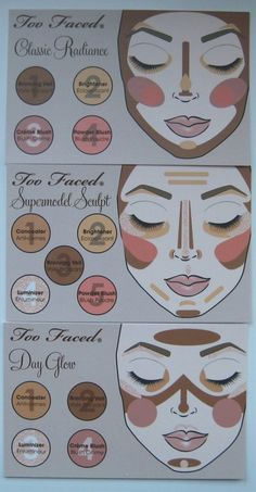 different styles of contouring - Click image to find more Hair & Beauty Pinterest pins