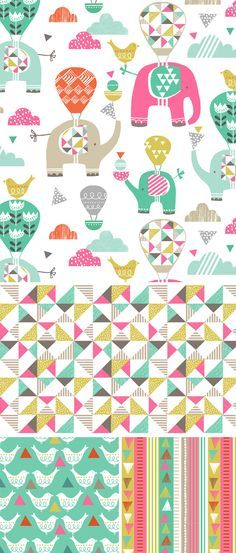 wendy kendall designs – freelance surface pattern designer » elephant parade