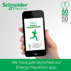 Schneider Electric as part of its 50 years in India celebrations has pledged to save 50 million kWh energy. We have just launched our Energy Marathon app. Download and help us in achieving our pledge. Download here https://www.facebook.com/SchneiderElectricIN/app_347740821992062